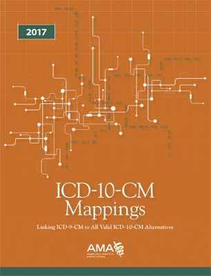 ICD-10-CM 2017 Mappings Book Cover