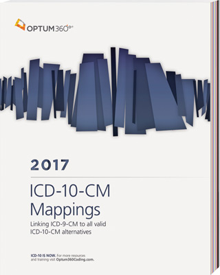 ICD-10-CM Mappings 2017 Book Cover