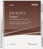 ICD-10-PCS Expert 2019 Book Cover